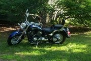 PRICE LOWERED:2006 Yamaha V Star Chromed out!